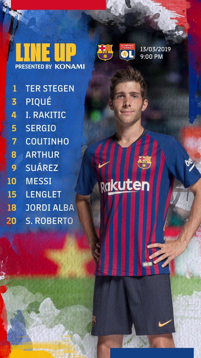 🔵🔴 Barça XI #BarçaOL