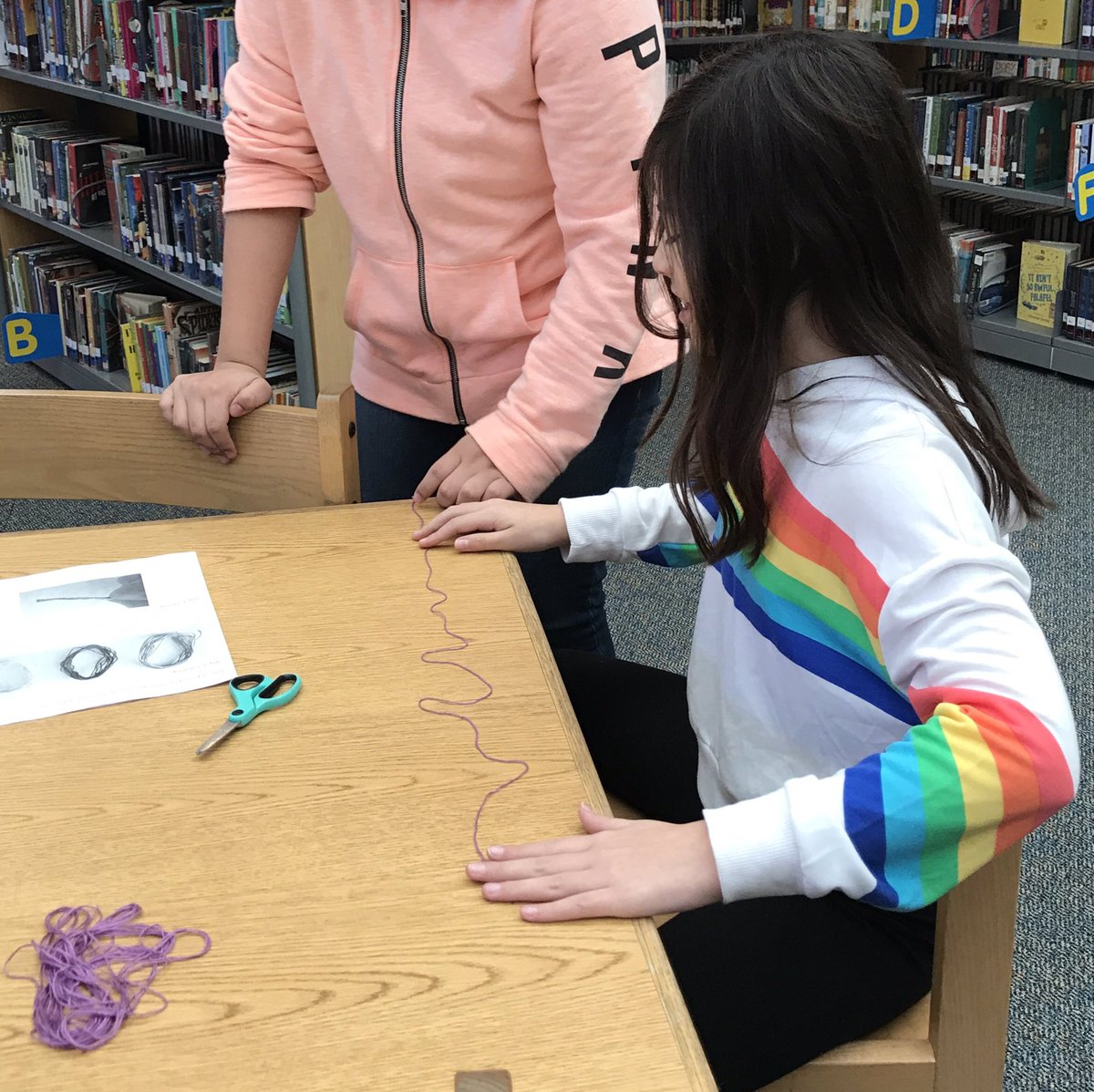 The Makerspace is officially open! We had our first Maker Lunch in the Library today with our 5th graders using embroidery floss to weave friendship bracelets. <a target='_blank' href='http://twitter.com/TechAtATS'>@TechAtATS</a> <a target='_blank' href='http://twitter.com/APSLibrarians'>@APSLibrarians</a> <a target='_blank' href='https://t.co/Z9DOM1YqHF'>https://t.co/Z9DOM1YqHF</a>