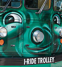 Did you us the I-Ride Trolley service during your last visit to International Drive? 😊  (https://bit.ly/2H0BDQS )