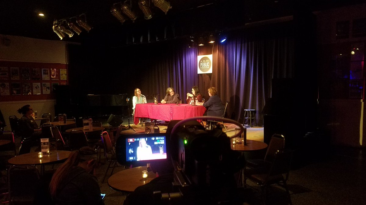 THE LOVING CUP ON-LOCATION: Auburn City Councilors Debra McCormick, Dia Carabajal & Terry Cuddy live at the Auburn Public Theater (podcast)
