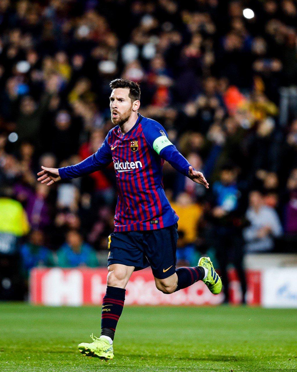 �� #Messi �� ���� #BarçaOL #ForçaBarça https://t.co/1obEVNmRnJ