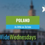 Happy #WorldWideWednesday! Today's country is Poland 🇵🇱 known for its football culture, hearty food, and breathtaking landscapes! Call your Polish friends and family using Fongo for just 3¢/min! Learn more by visiting: https://t.co/UO7A6003E5
