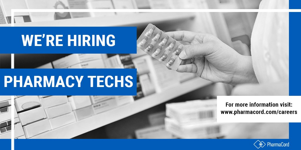 We're on the lookout for pharmacy technicians! Join our team and apply today!  http://ow.ly/cvTA30o2dFj  #Pharmacy #PharmacyTechs #Hiring #Careers #JoinOurTeam