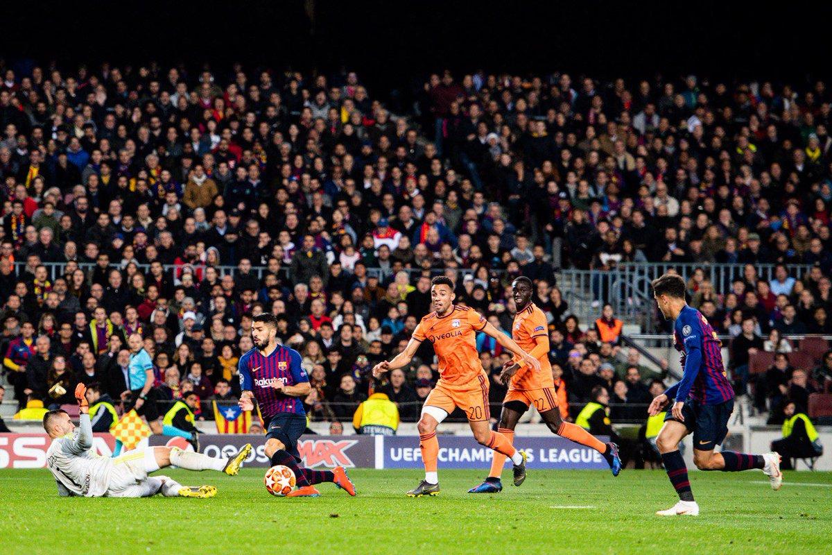 Барселона - Ліон 5:1. Без сучка і задирки. Майже - изображение 3