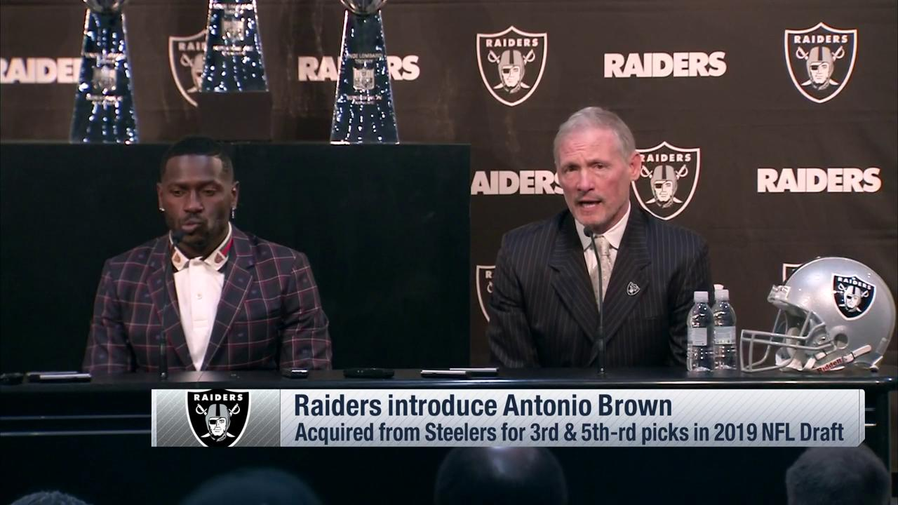 The @Raiders introducing @AB84!  ��: @nflnetwork https://t.co/LmDsXshMiK