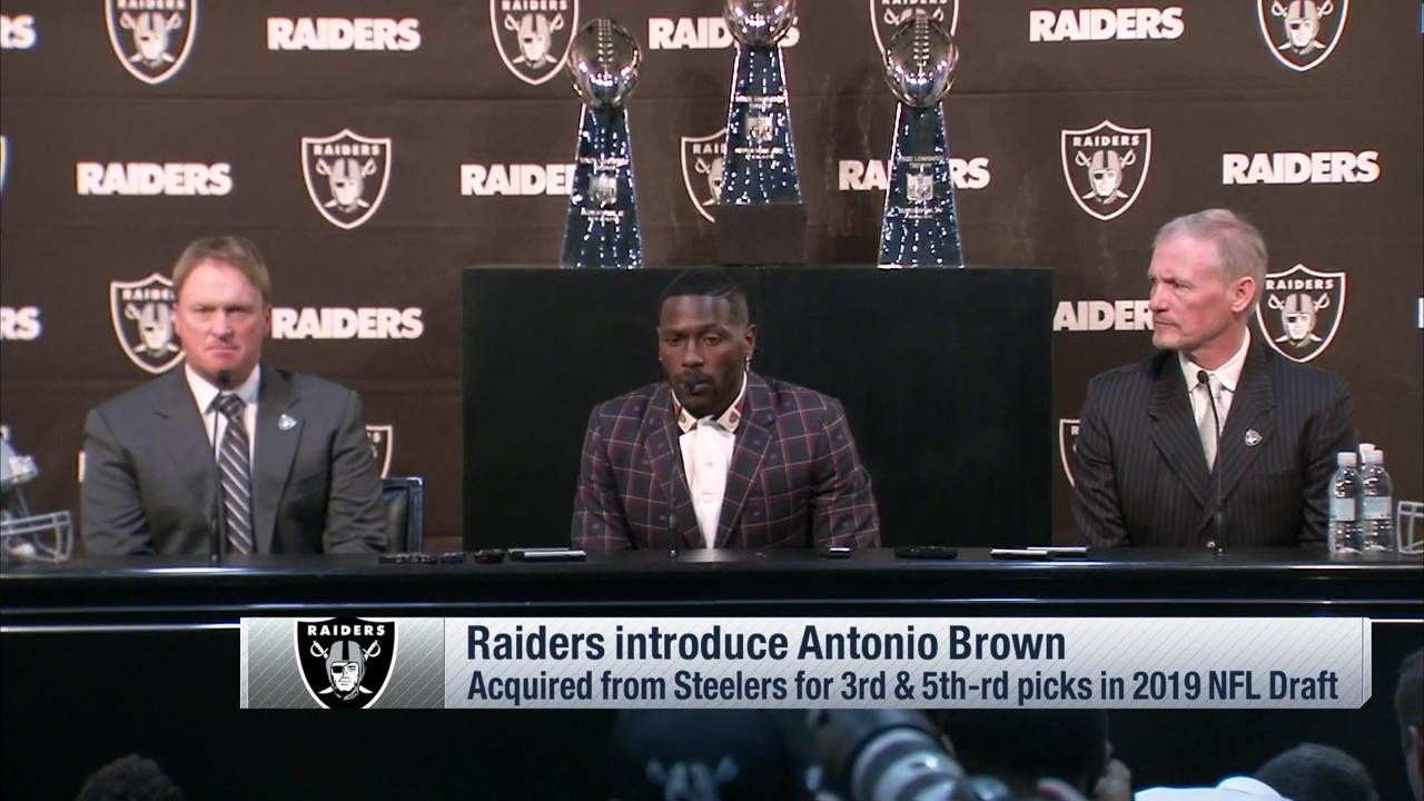 .@AB84 is bringing his legendary work ethic to Oakland. �� @Raiders  ��: @nflnetwork https://t.co/G7EuDkVNd6