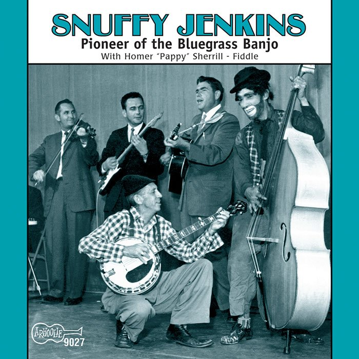 """If you're ever looking for a down-home sound, you might try the three-fingered banjo style of DeWitt """"Snuffy"""" Jenkins (1908-1990). He influenced #Bluegrass stars Don Reno and Earl Scruggs with a sound that was slightly more raw. Hear it and imagine you're down in the cool hollow <br>http://pic.twitter.com/YYbbKP2bbR"""