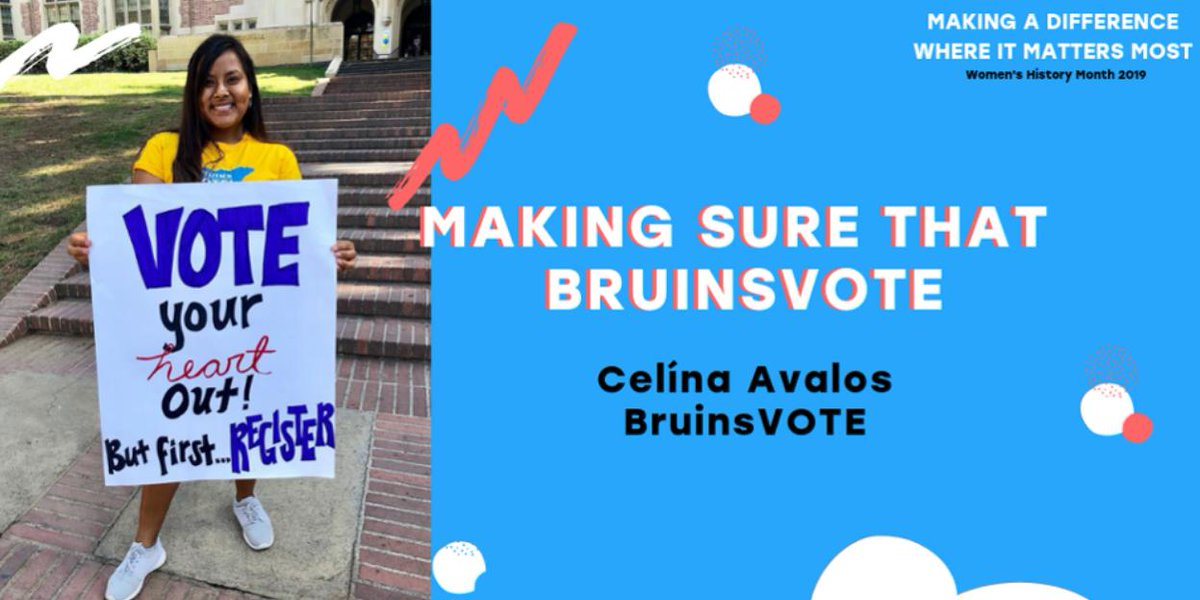 No surprise to see @UCLAlatino Policy Fellow @celinavalosj named as one of the 8 women to make a difference in the #Midterms2018 by @Forbes. We are so proud to have her on our team!! #LatinaPolicy #NextGen Check out the full article here:  http:// tinyurl.com/y427qk7f  &nbsp;  <br>http://pic.twitter.com/6HDDLvQydQ