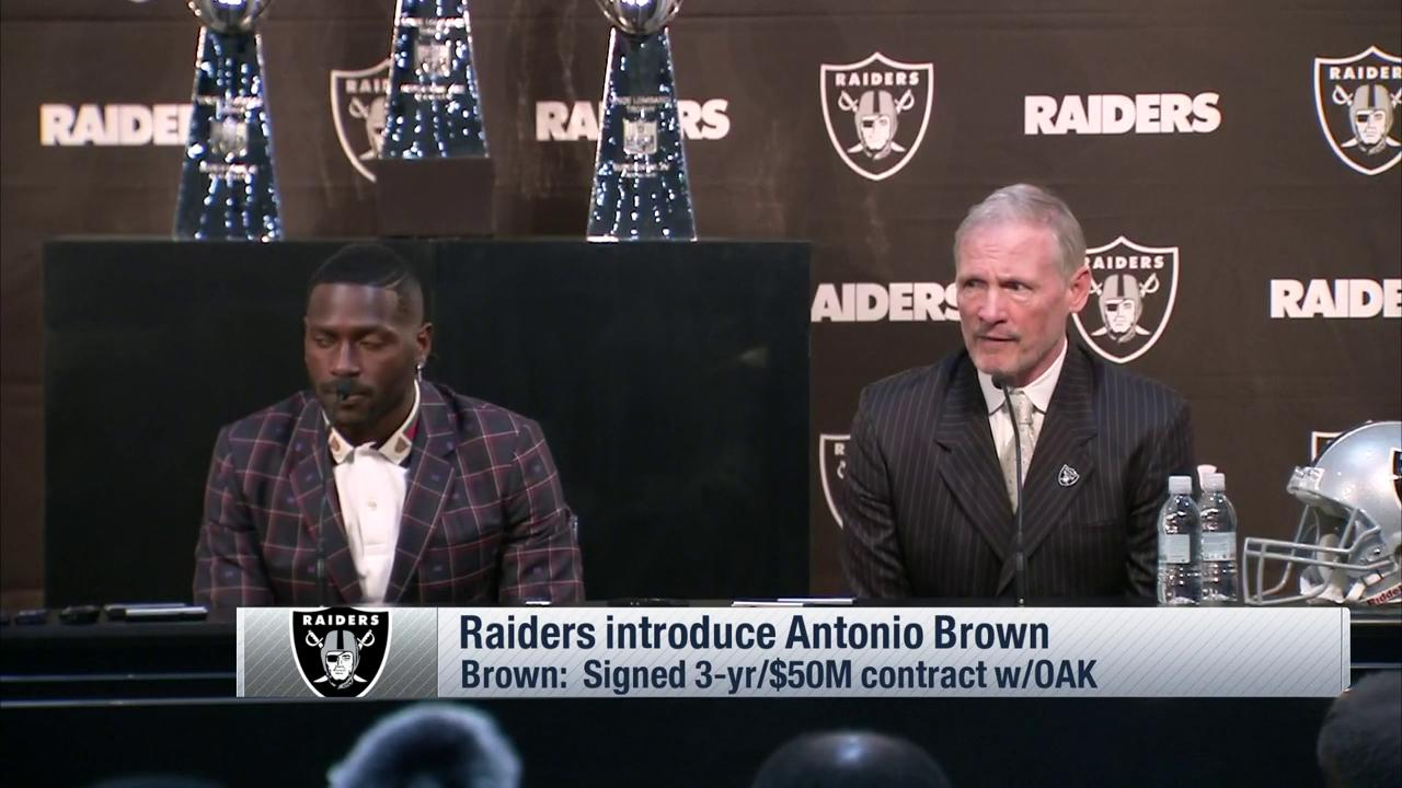 'They were like little kids in a laboratory.'   Gruden and @AB84 wasted no time getting to work. ��  ��: @nflnetwork https://t.co/2DI9TkEKe3