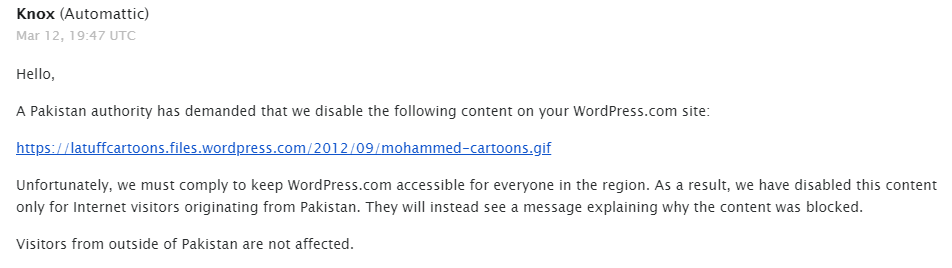 What's wrong with #Pakistan authorities? They're blocking my cartoons AGAINST Islamophobia!!!
