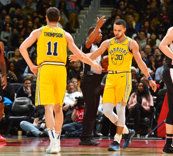 Since the All-Star break, GSW's Stephen Curry (45) & Klay Thompson (32) and HOU's Eric Gordon (38) & James Harden (29) all rank in the top 12 in 3PM.  7pm/et: @BrooklynNets x @okcthunder  9:30pm/et: @warriors x @HoustonRockets    @ESPNNBA Tune-In Tidbits: https://stats.nba.com/articles/tune-in-tidbits-espn-wednesday-march-13-2019/…