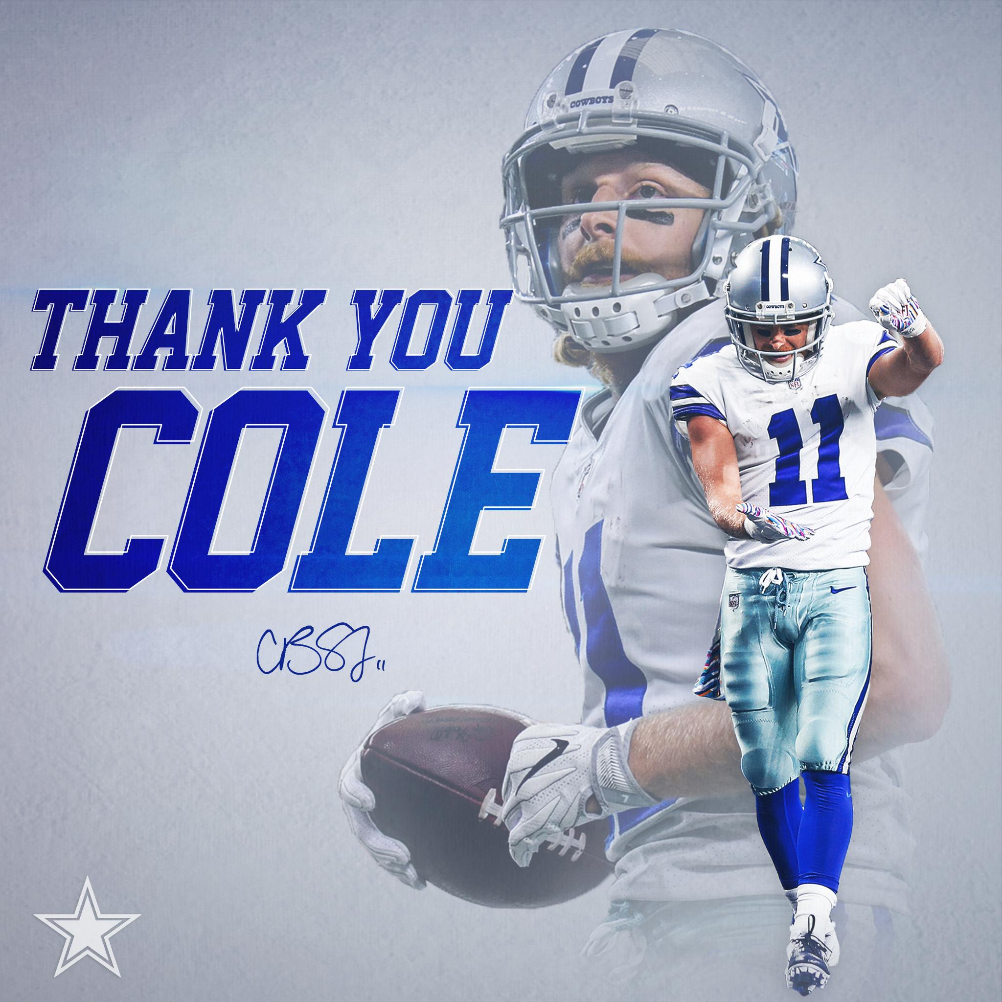 Thank you Cole. https://t.co/5jlj8VCd9x