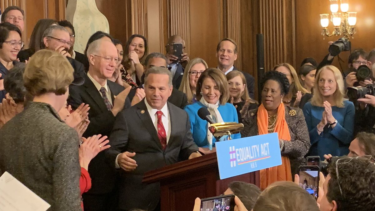 Proud that so many of my colleagues joined me today to introduce the #EqualityAct!