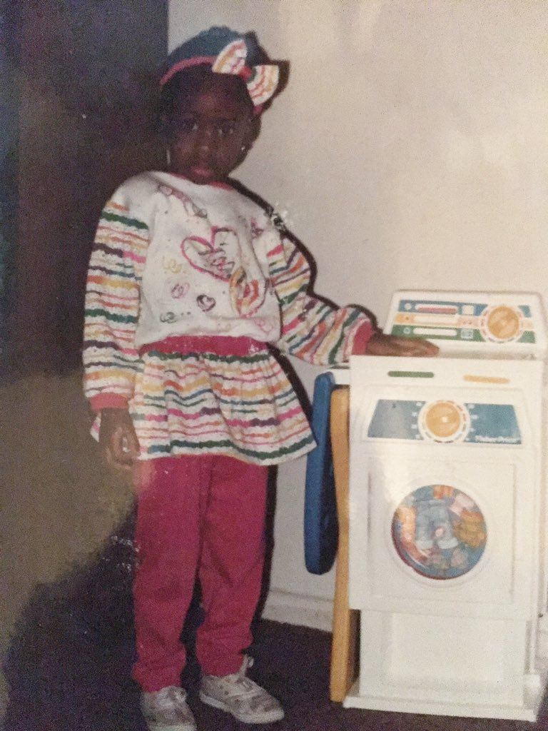 """When I Was Still Young And Innocent "" - BBNaija's Anto Shares Throwback Photo"