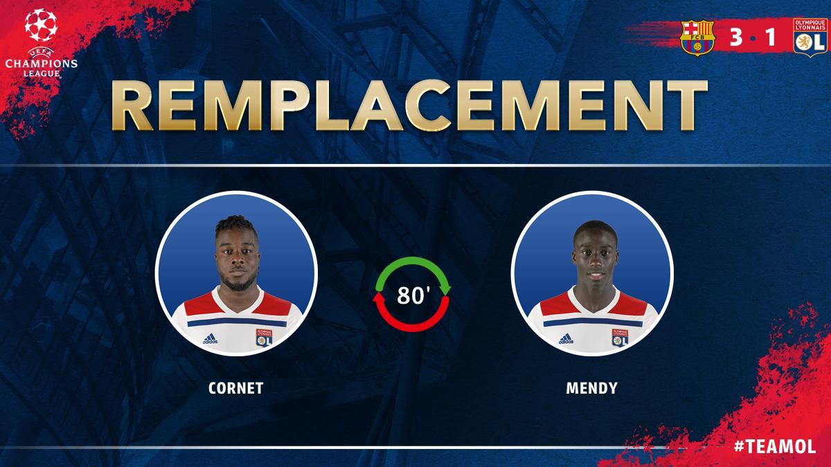Olympique Lyonnais's photo on Cornet