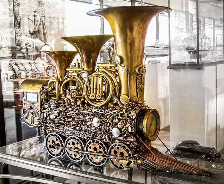 #train by Sonny Dalton #steampunk #steampunkstyle #steampunkart #steampunkages