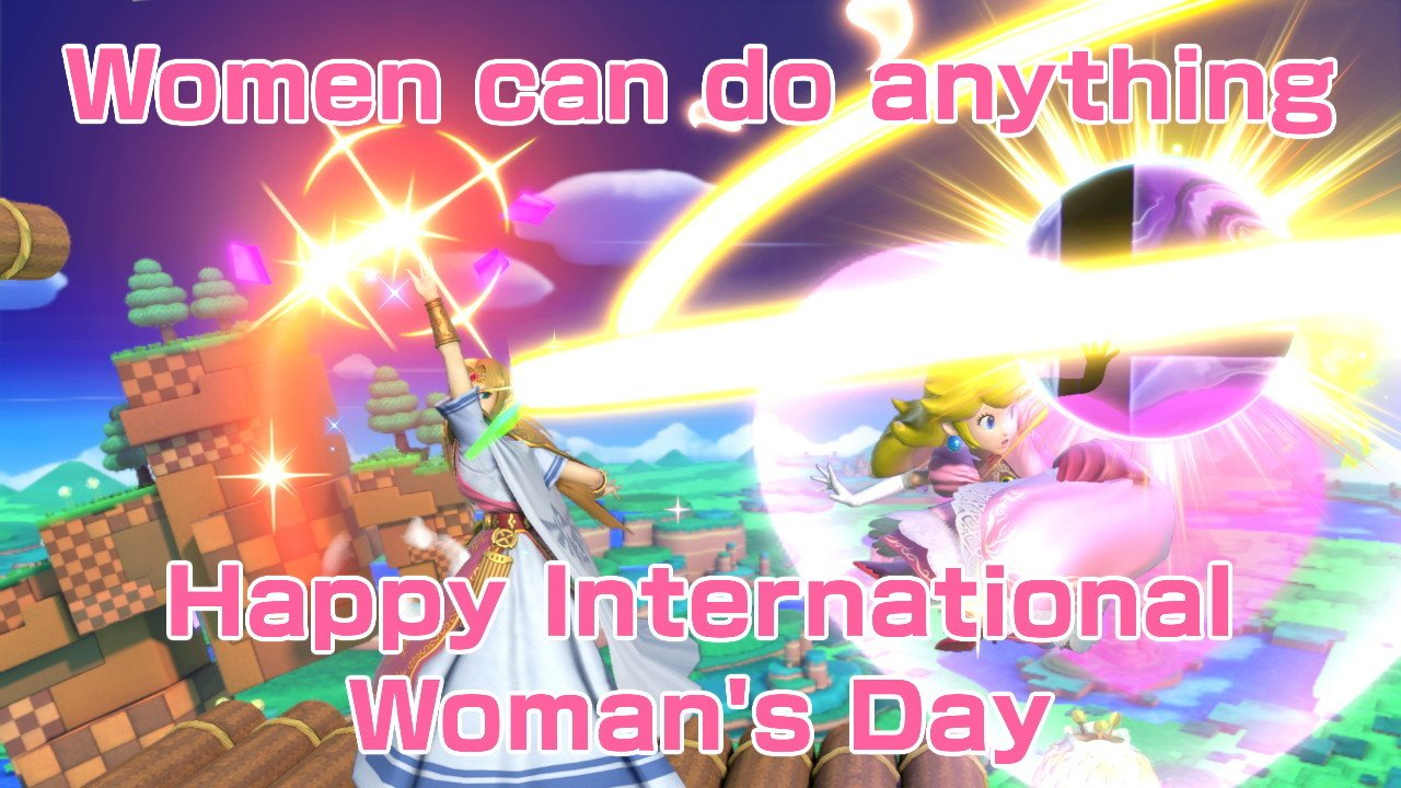 Happy late International Woman's Day #VoteChao4Mayor #SmashBros #NintendoSwitch https://t.co/c7QXY9Z3L8