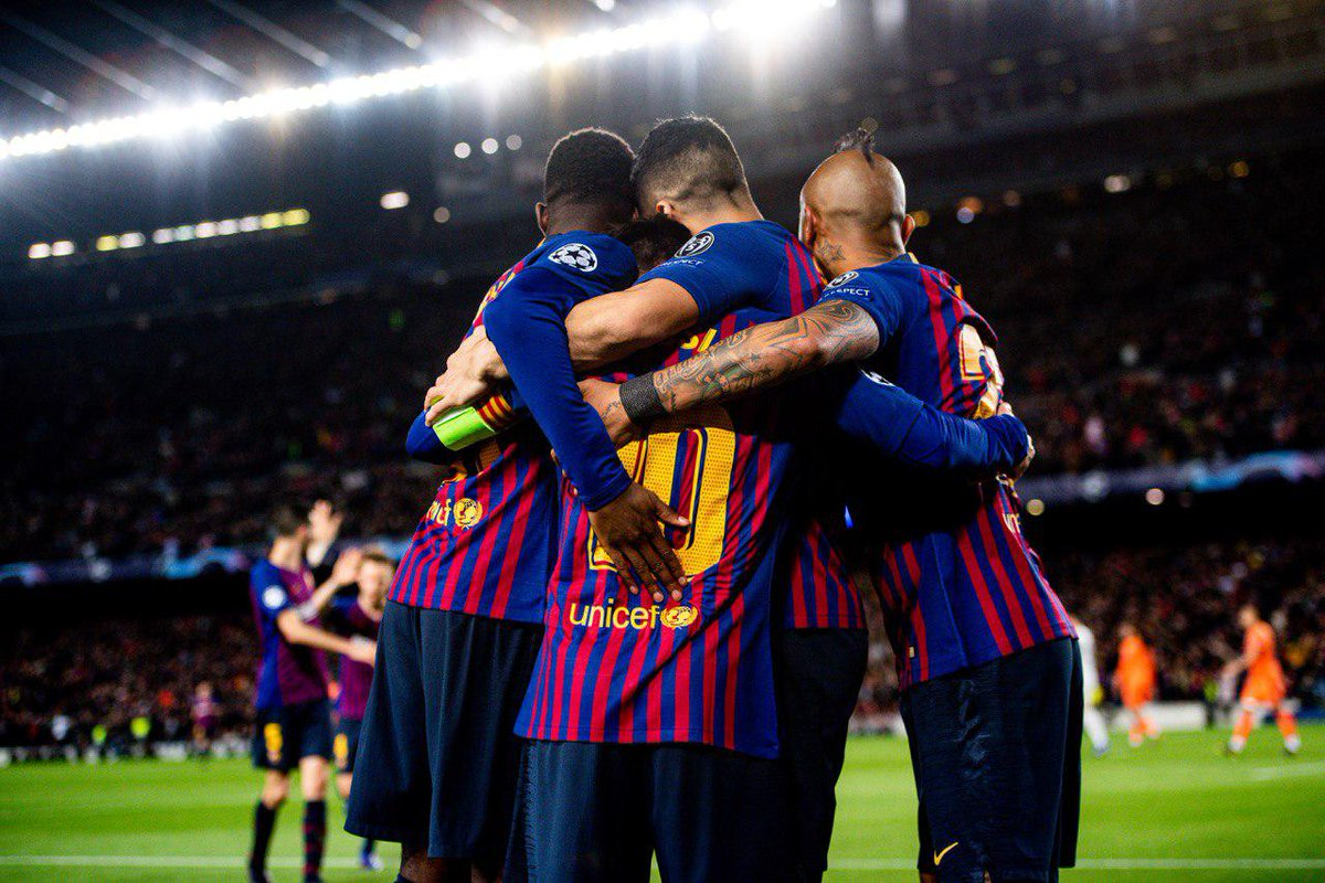 Барселона - Лион 5:1. Без сучка и задоринки. Почти - изображение 1
