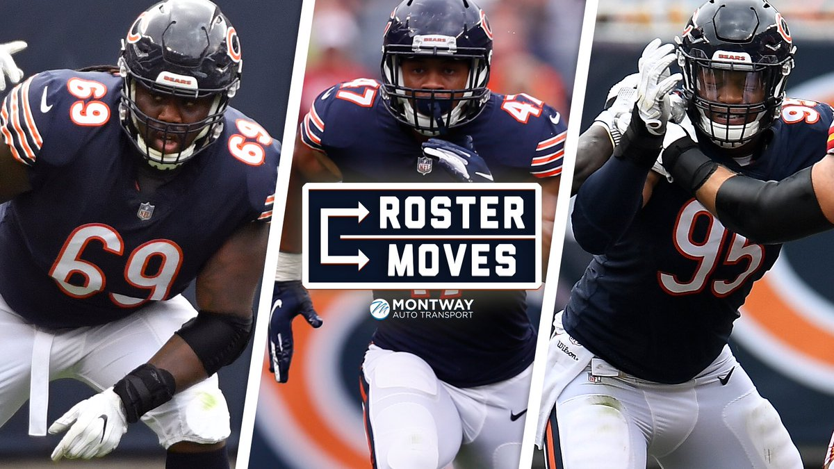 We have tendered contracts to OL Rashaad Coward, OLB Isaiah Irving and DE Roy Robertson-Harris.  We have also released Cody Parkey.  📰: https://chgobrs.com/2EXSRLh