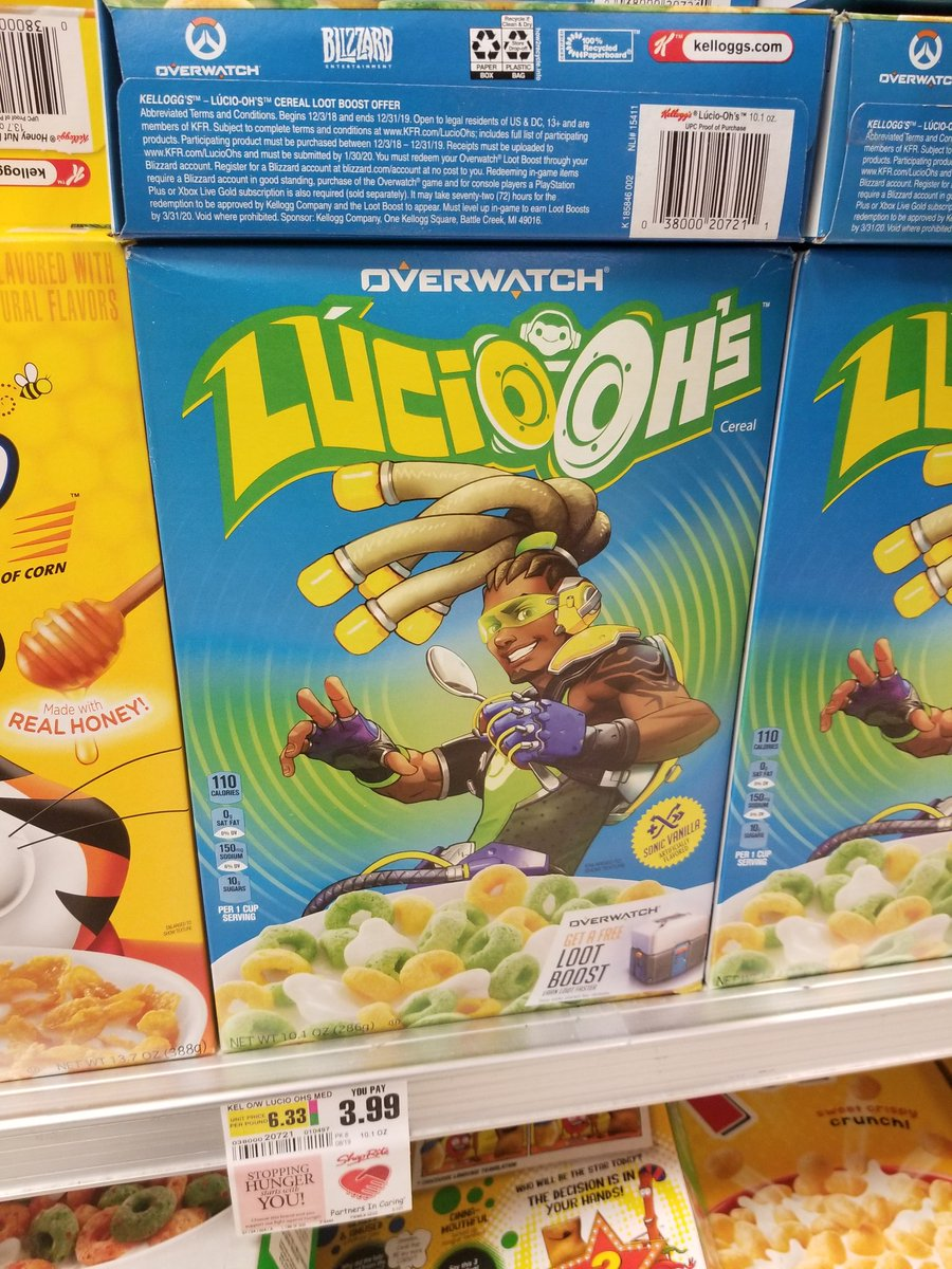 They fucking make Overwatch cereal????