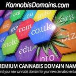 Image for the Tweet beginning: Top Cannabis CBD Hemp domains