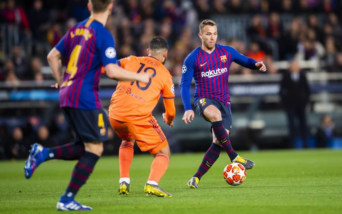 🔵🔴 @arthurhromelo in #BarçaOL:  7️⃣2️⃣ passes 7️⃣1️⃣ completed 9️⃣8️⃣.6️⃣% successful  ✅🔝 His best passing accuracy in a game for Barça in all competitions.👏👏👏