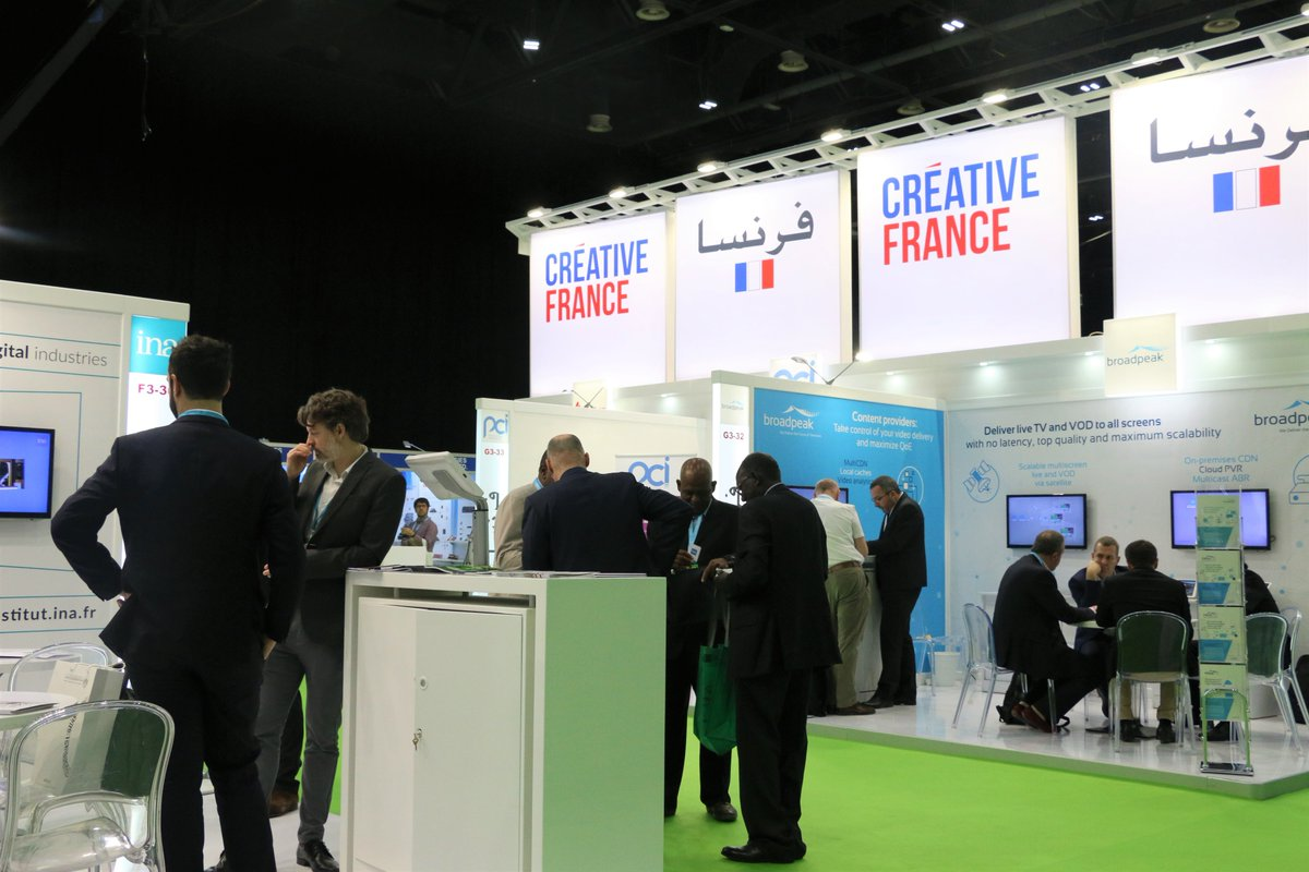 Come visit us on the last day of @CABSATofficial 2019, to discover the latest innovations #VideoProjection #FranceAtCabsat #FrenchPavilion Hall 3 #InfoBF https://bit.ly/2NJsWek