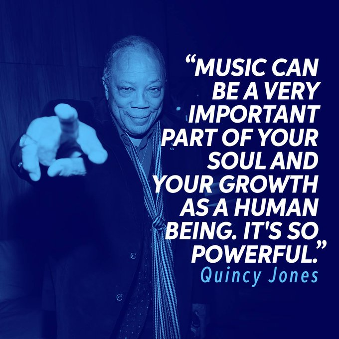 Happy Birthday to the great producer, Quincy Jones.