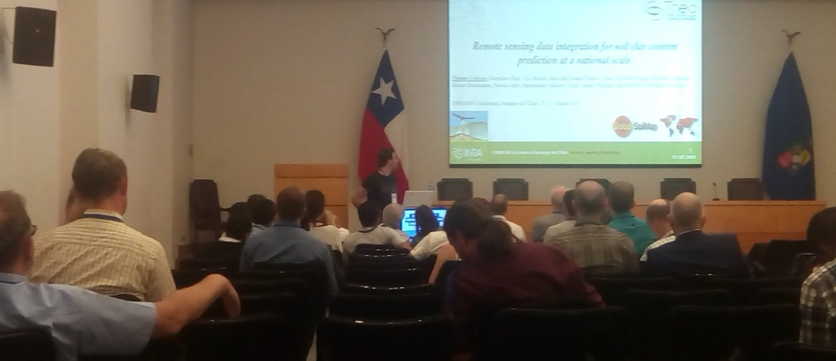 Thomas Loiseau Remote sensing data integration for soil clay content prediction at a national scale  Workshop for Digital Soil Mapping and GlobalSoilMap 2019 #DigitalSoilMapping #GlobalSoilMap<br>http://pic.twitter.com/KUUwVa6N0y