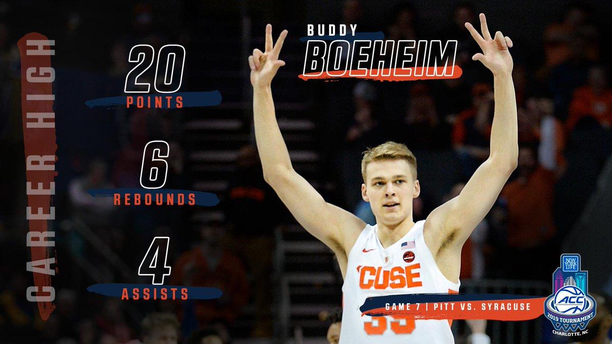 ACC Men's Basketball's photo on Buddy Boeheim