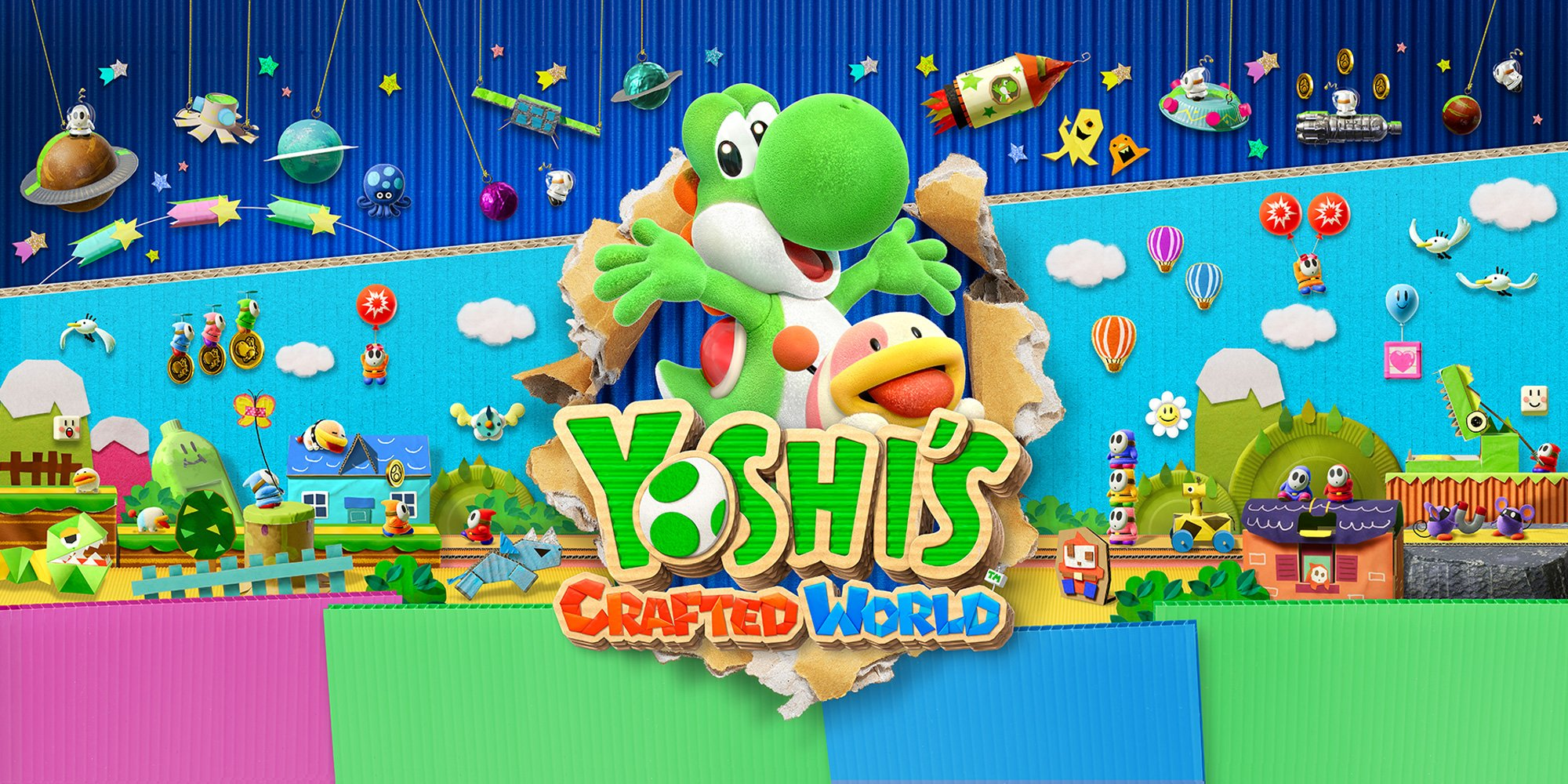 De nouvelles vidéos de gameplay pour Yoshi's Crafted World https://t.co/nvTgtWSAf3 #Yoshi #NintendoSwitch https://t.co/KpsO29bGQ3