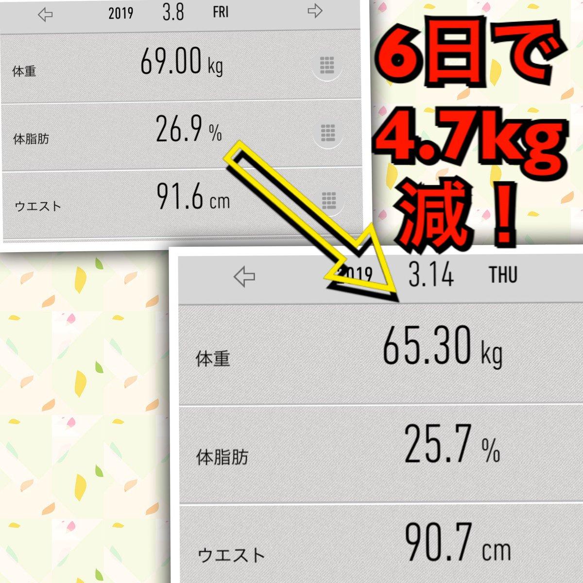 断食 痩せる 日間 キロ 5 何