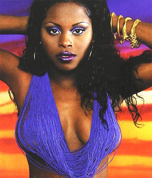 """Cocolo Minaj on Twitter: """"Foxy Brown photographed by Tony Duran and on the  set of her music video for """"Oh Yeah"""" (2001)… """""""