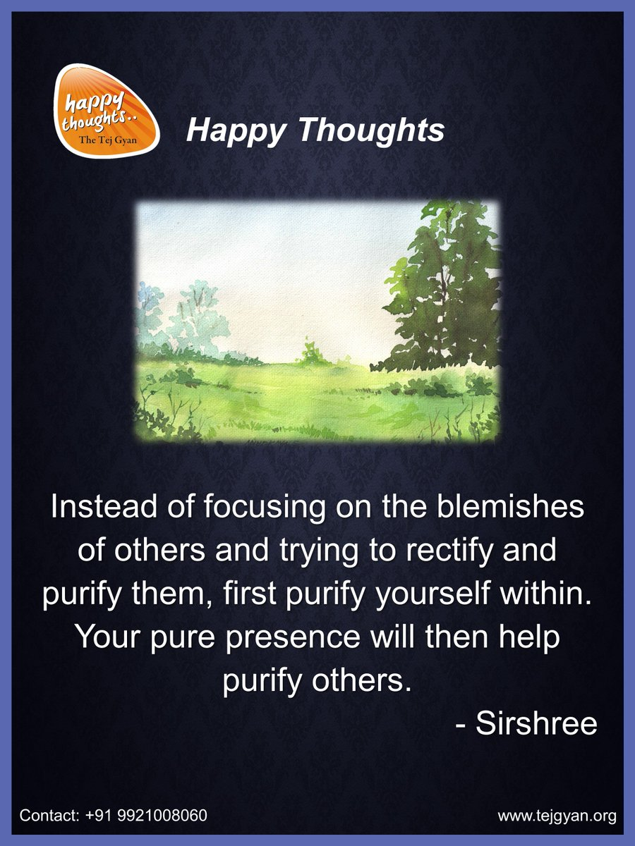 Happy Thought for the Day