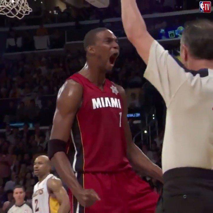 Chris Bosh = flat-out baller. 🔥  #TBT