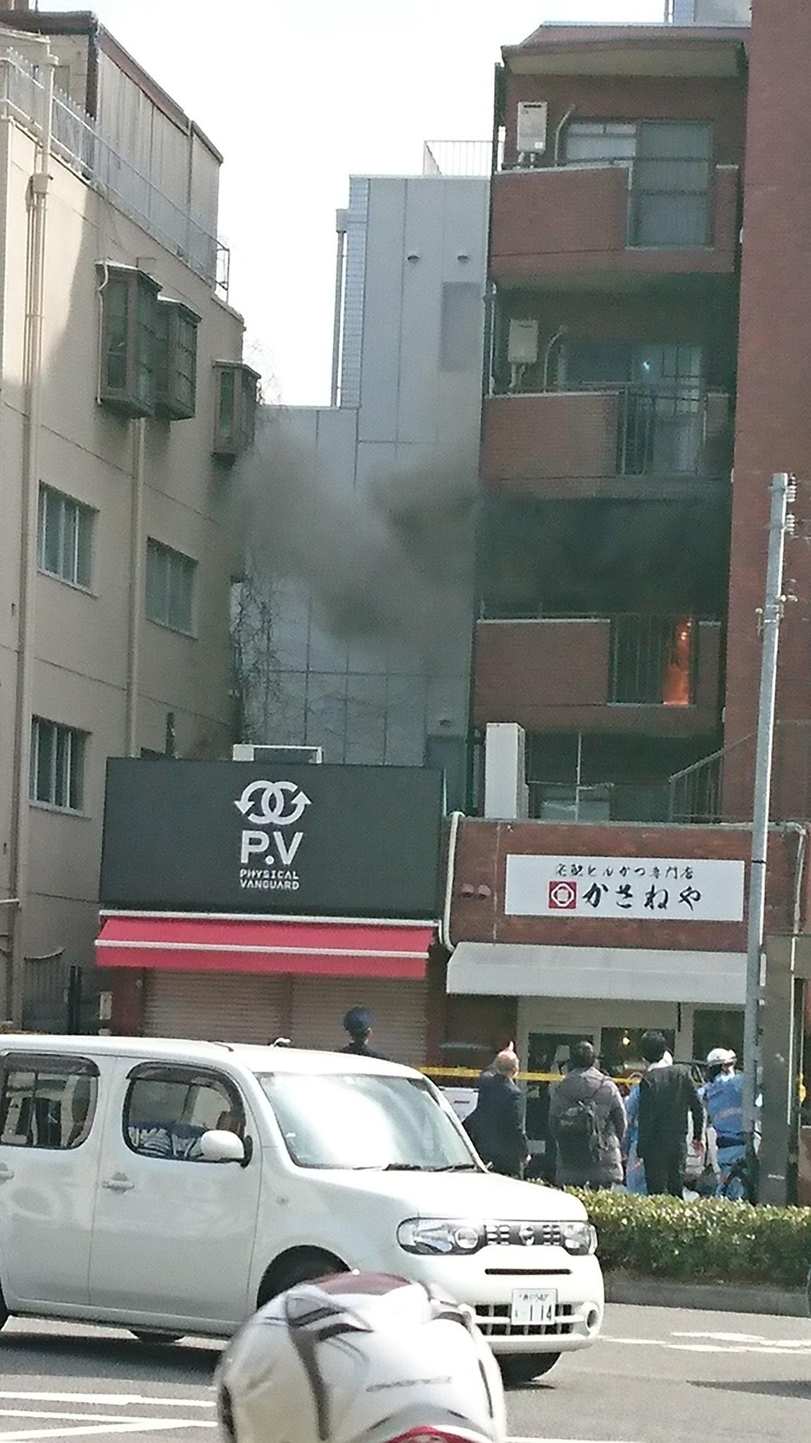 画像,神戸大倉山の横のマンションにて火災発生!住民の方の無事を祈ります。 https://t.co/5j2X9fLb0D。