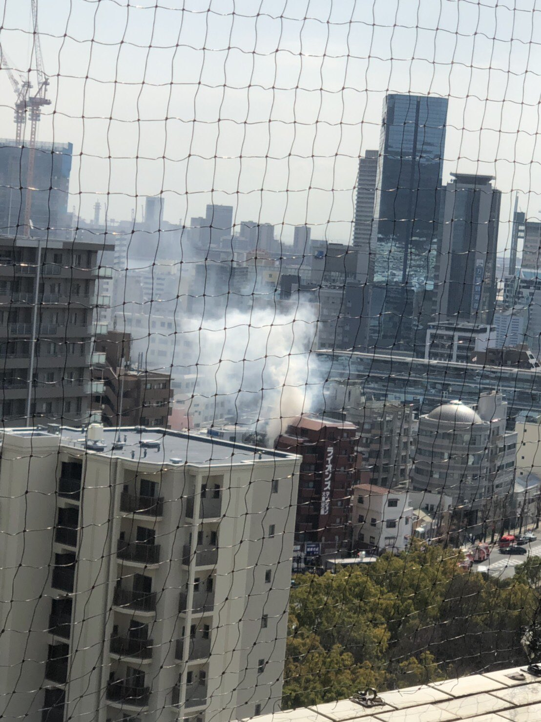 画像,病院近くで火事!! https://t.co/kOf7cNJ7f1。
