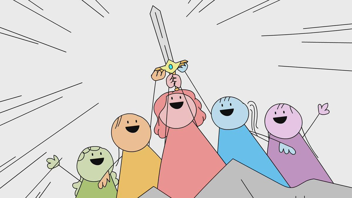In your favorite cartoons the good guys always win, but this time the good gals won. Produced and animated by an all-female team led by @kaitlinfontana with @julielevitsky. Edited by @dgomezmena.
