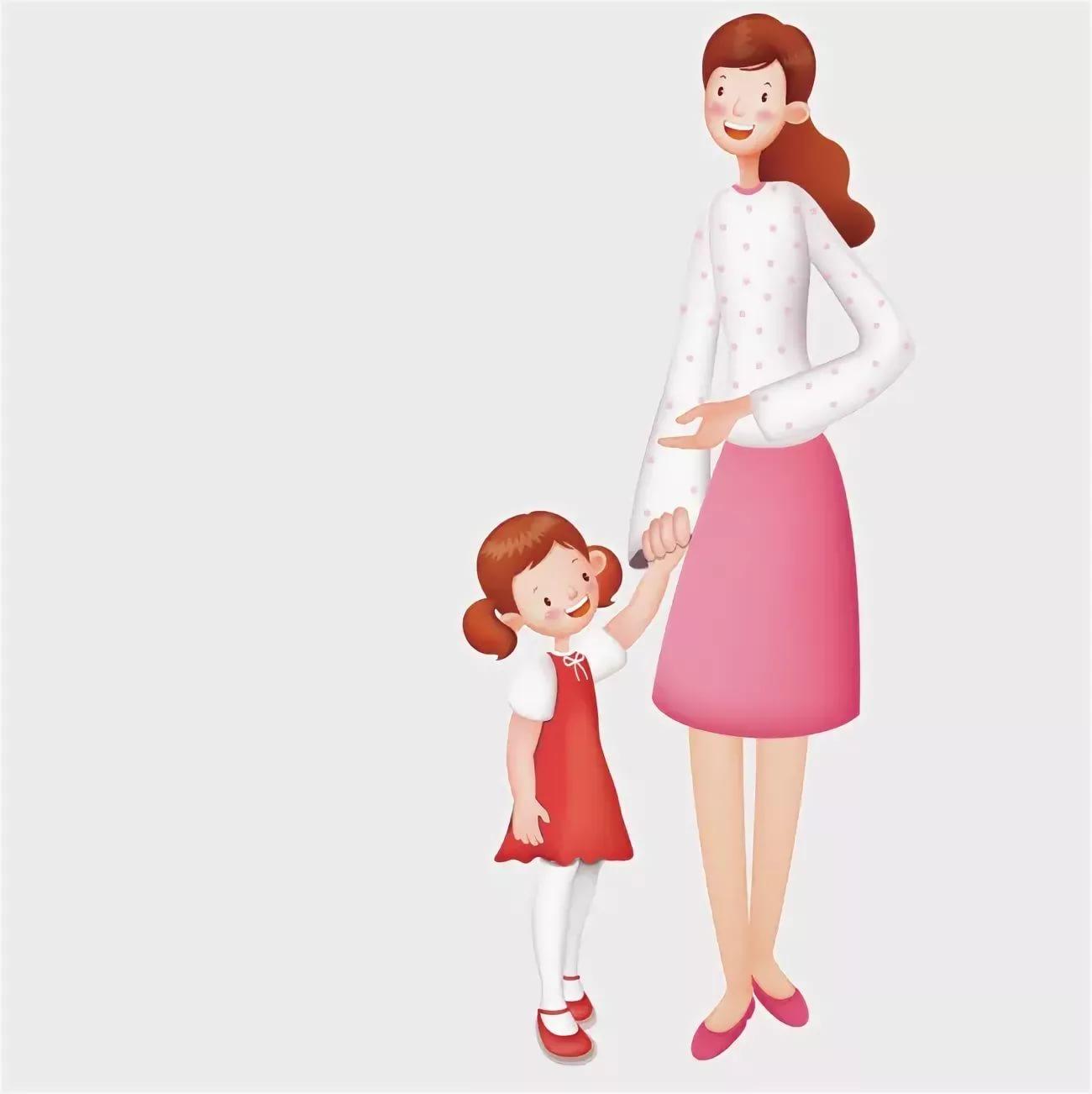 Картинки для детей мама на прозрачном фоне, приятного