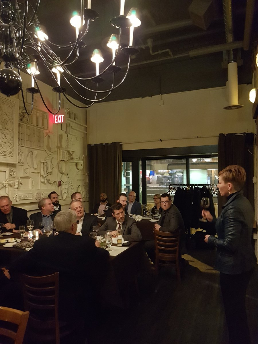 Mayor @AlannaHnatiw toasting valued partners #Pembina and @ABheartland on the $4.5 Billion CKPC #investment in @SturgeonFYI . Ready to #StartinSturgeon! @SturgeonEcDev