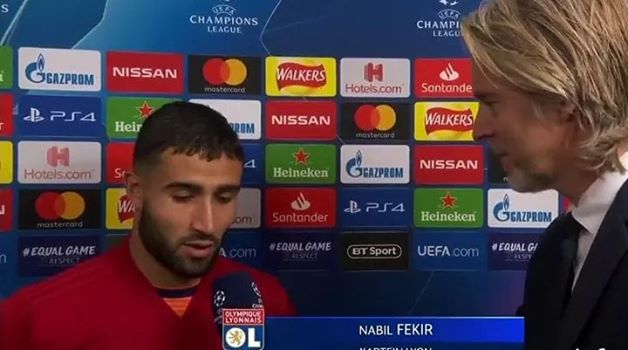 Nabil Fekir: ''We played a good game but history's best player made it impossible for us. When he's not scoring he's assisting. When he's not assisting he's play-making. It was impossible. He is impossible'' #Messi