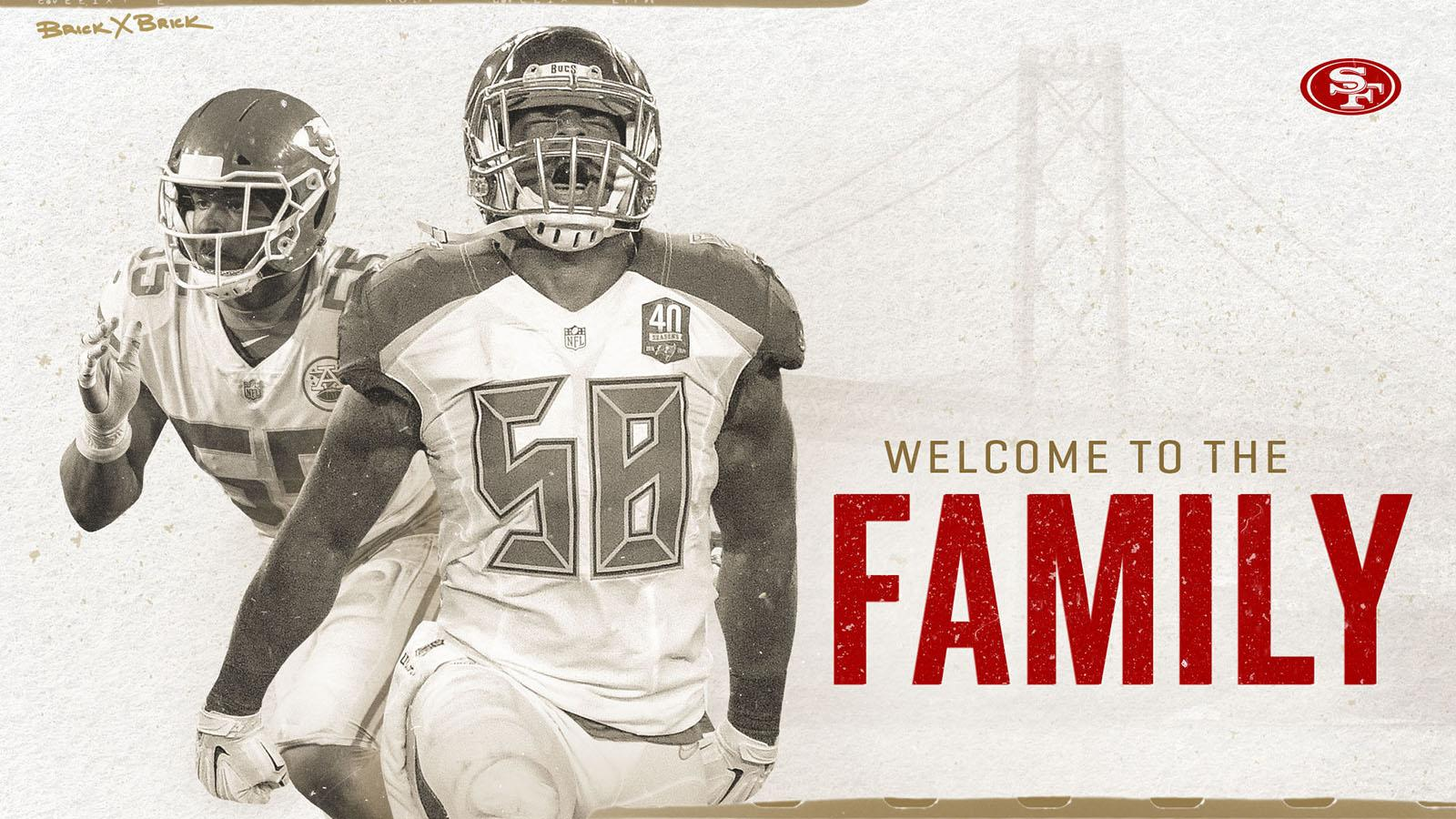 It's official! Welcome to the family Dee Ford & @kwon.  https://t.co/2zy1aFGnuS https://t.co/C6Im0OTRLC