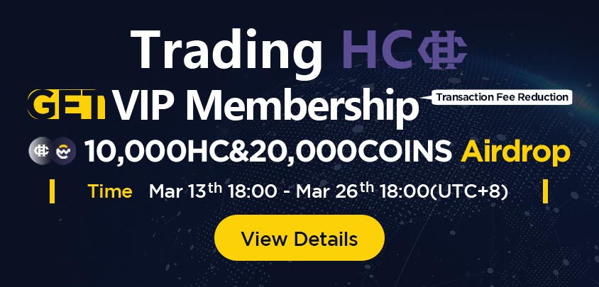 Join our friends at Coinw for this awesome opportunity! #HyperCash $HC
