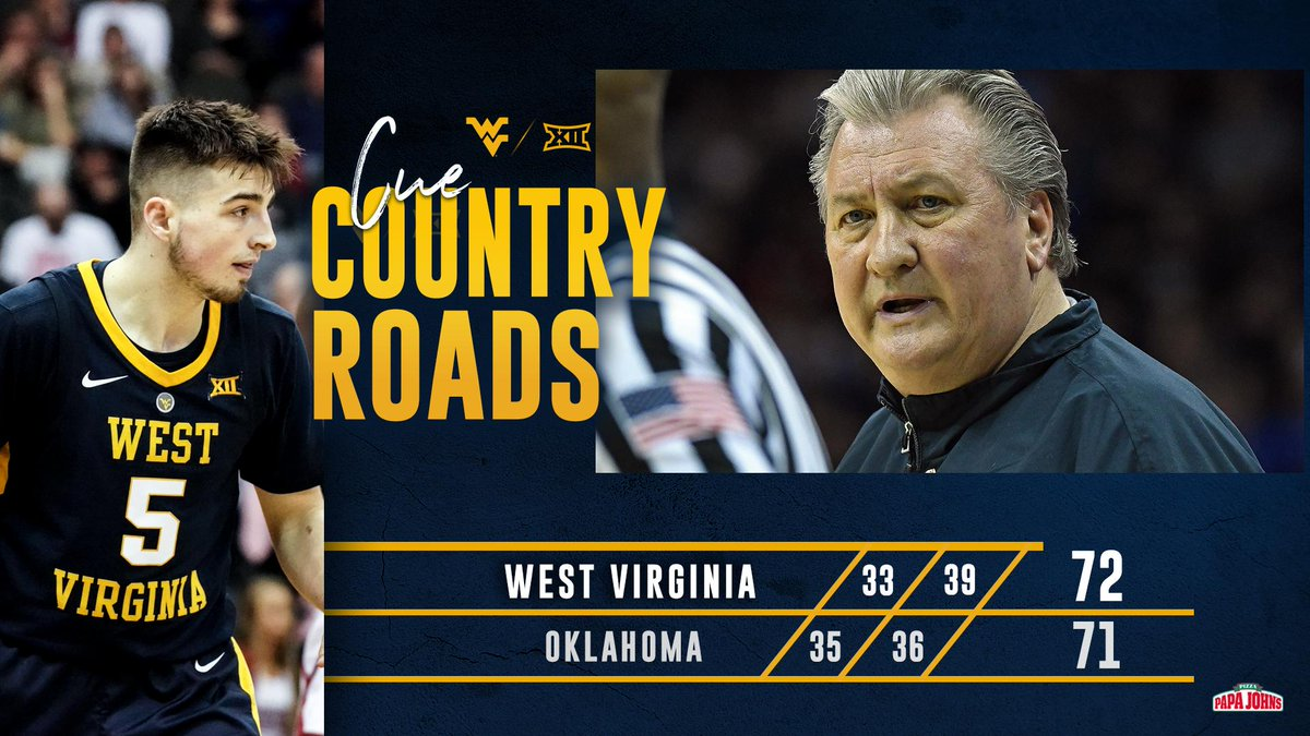 WVU Basketball's photo on Cue Country Roads