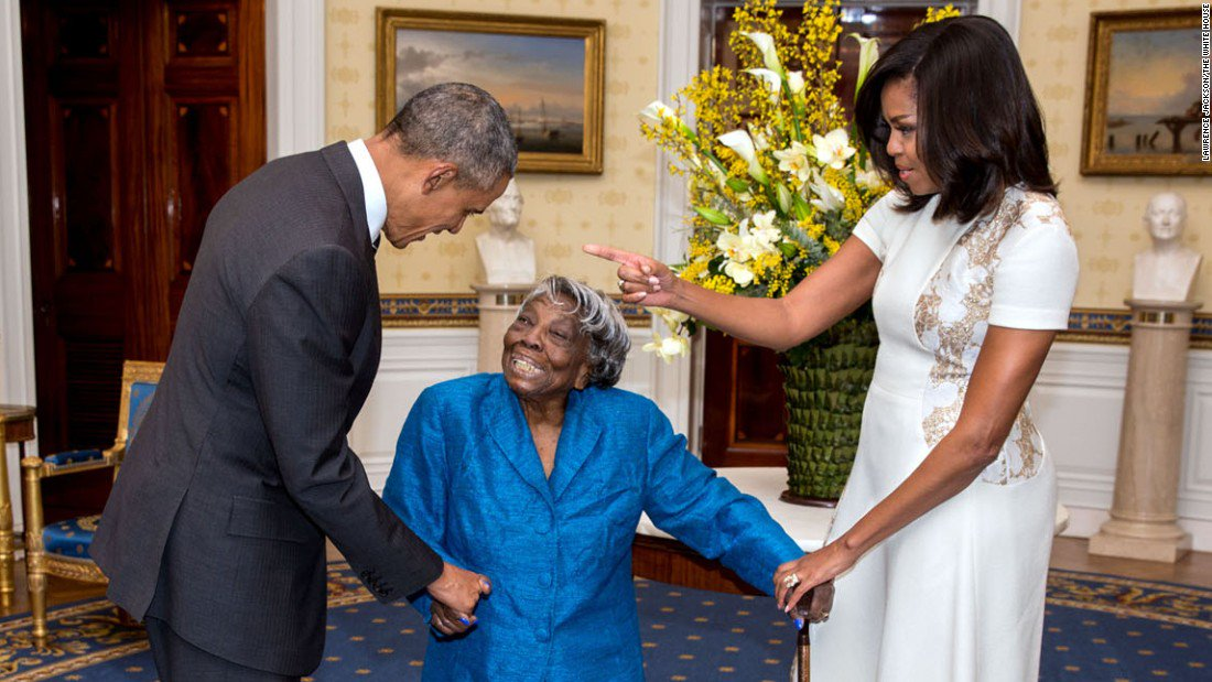 She danced with the Obamas at 106. Now she has more plans as she turns 110 years old https://t.co/IrNgTegdRs https://t.co/CPPOWm52Ot