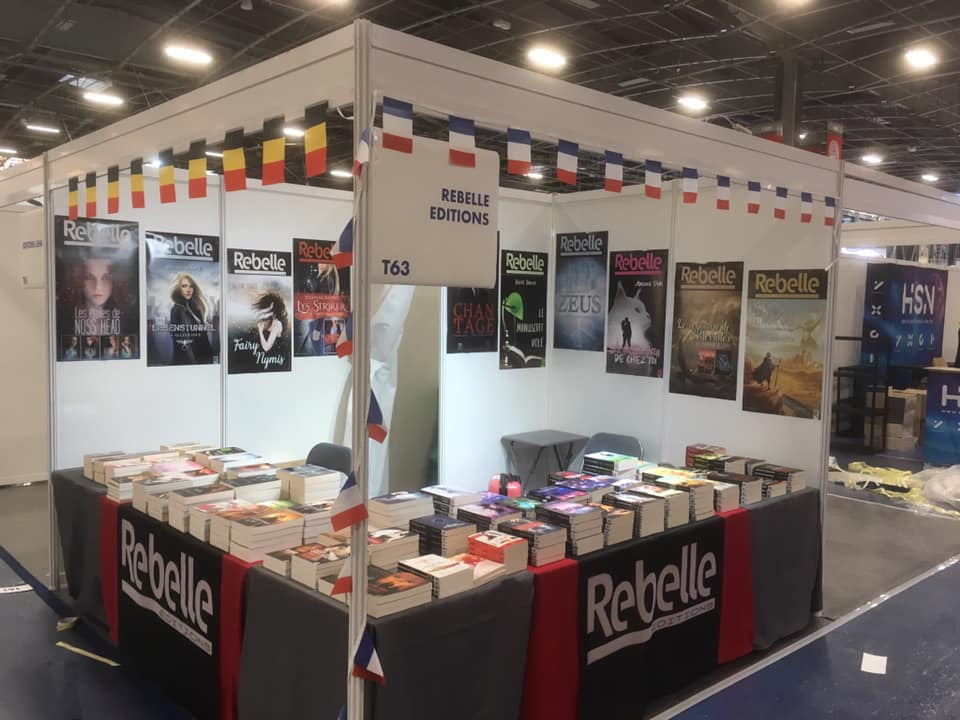 Rebelle Éditions's photo on #salondulivre