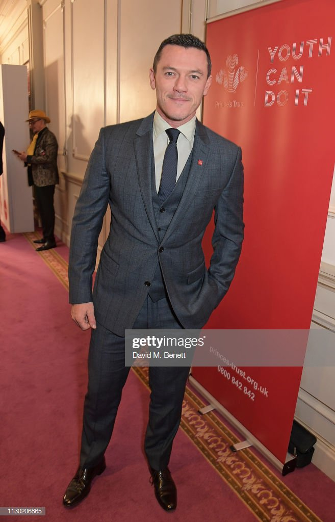 60fc10f38019 Luke Evans attends The Prince's Trust, TKMaxx and Homesense Awards at The  Palladium on March 13, 2019 in London, England.