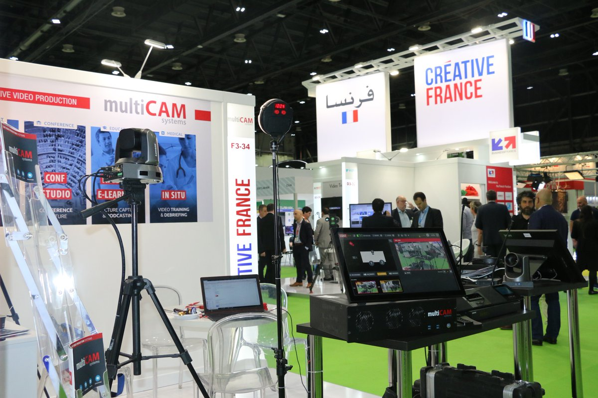 Discover @multiCAMsystems they present their new Multicam features   #Videomixer user-friendly #multicamera live broadcasting  learn more visit #FrenchPavilion Hall 3 F3-34 @CABSATofficial 2019   #FranceAtCabsat #InfoBF