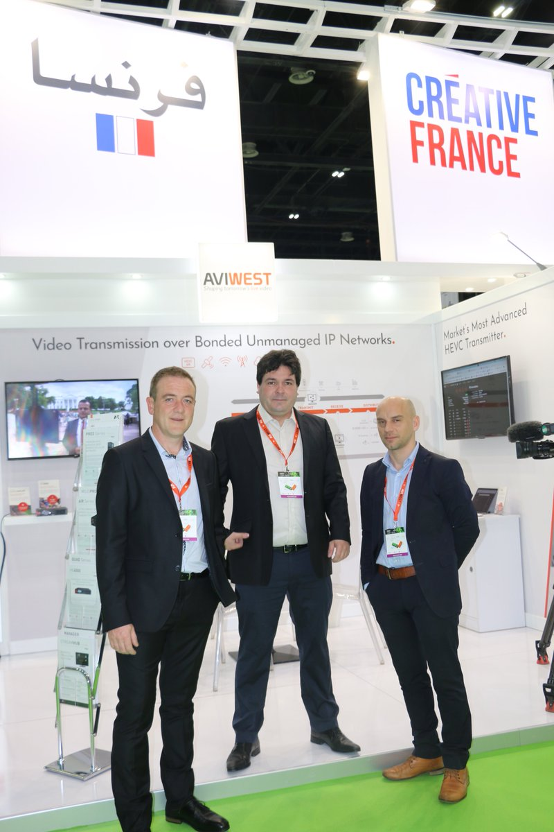 Don't miss it! meet @Aviwest one of the world's leading providers of video contribution #LiveVideo #LiveStreaming #Liveproduction #IPVideo #SportCoverage #Broadcasting #Media #News #entertainment find them at @CABSATofficial #FrenchPavilion hall 3  D3-30 #FranceAtCabsat #InfoBF