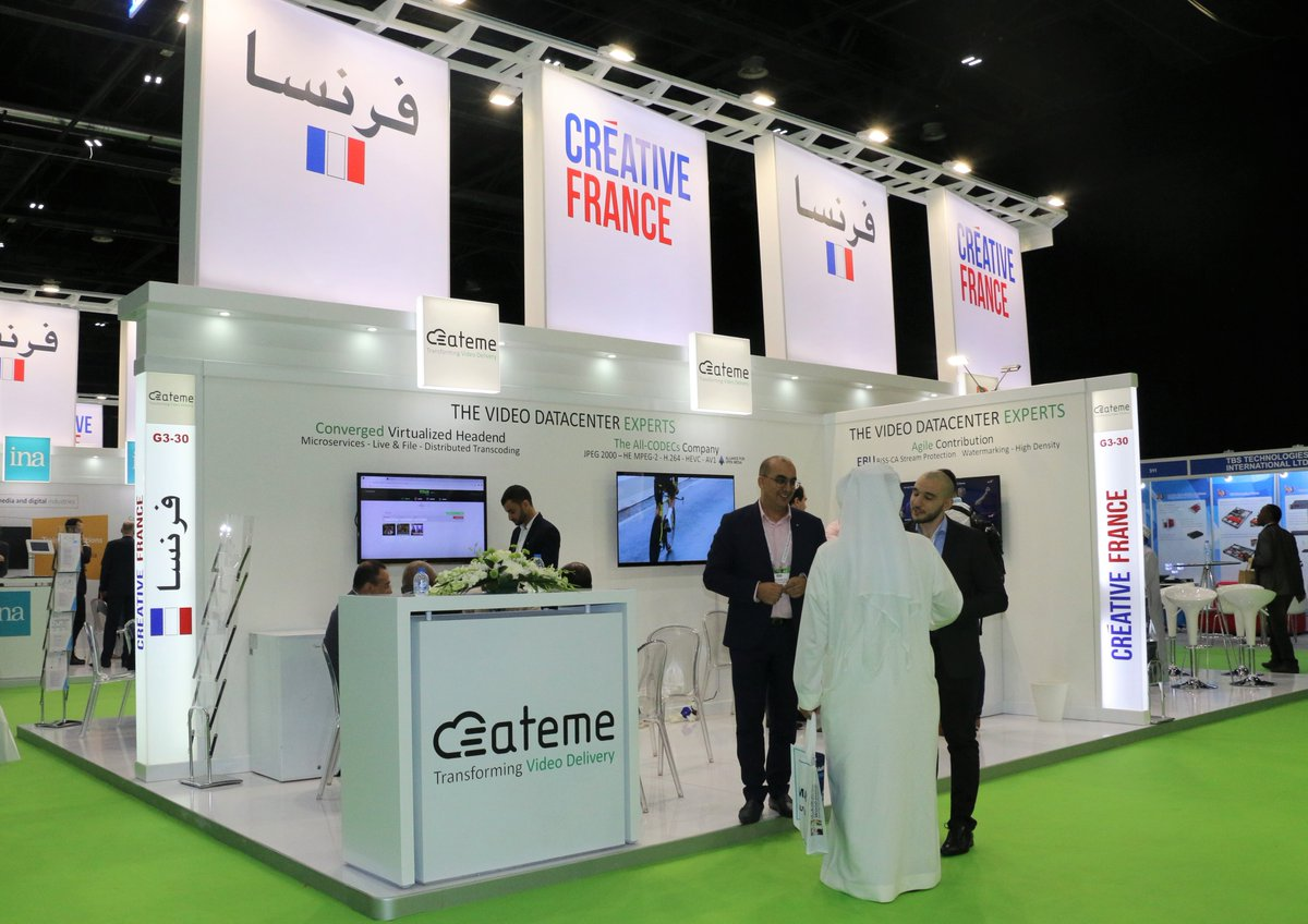 Come and join @ateme_tweets is a global leader in advanced video delivery infrastructure and a world leading provider of #HEVC, H.264 & #MPEG-2 bandwidth #CompressionTechnology to know more visit #FrenchPavilion hall 3 G3-30 @CABSATofficial 2019 #FranceAtCabsat #InfoBF